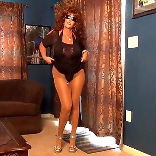 Solo Pantyhose Show 12